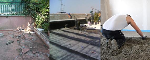 impresa edile roma impermeabilizzazioni